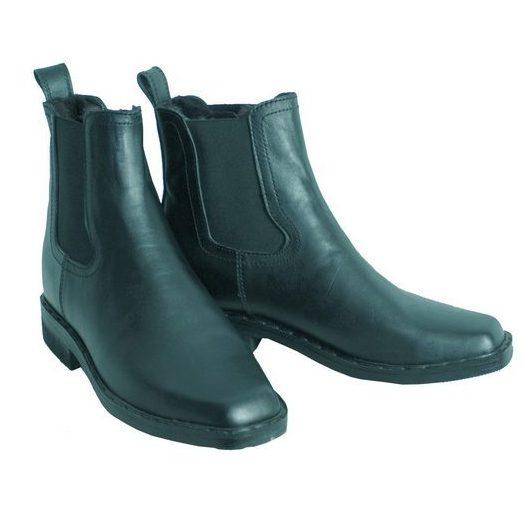 Ботинки на резинке с квадратным носом