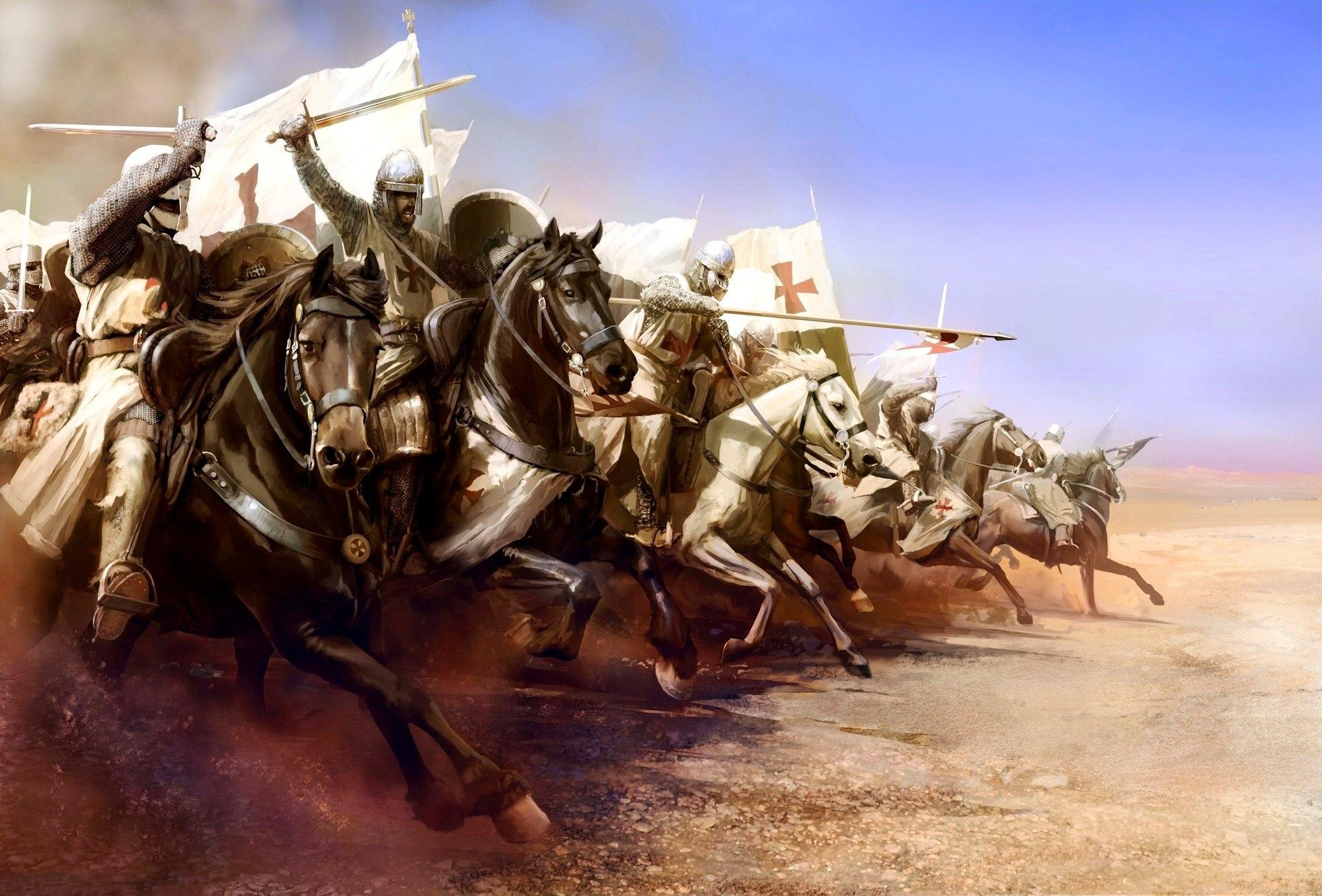 конное сражение